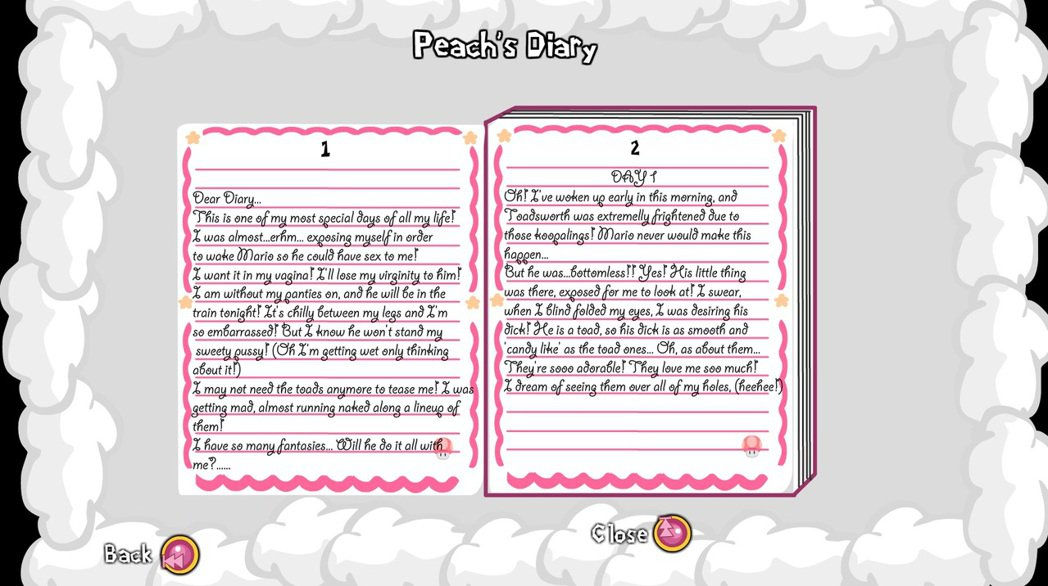 碧姬公主的日記記載著她不為人知的每一個小秘密。