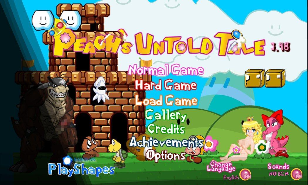 Ivan-Aedler接手製作後,將遊戲改名為《Peach's Untold T...