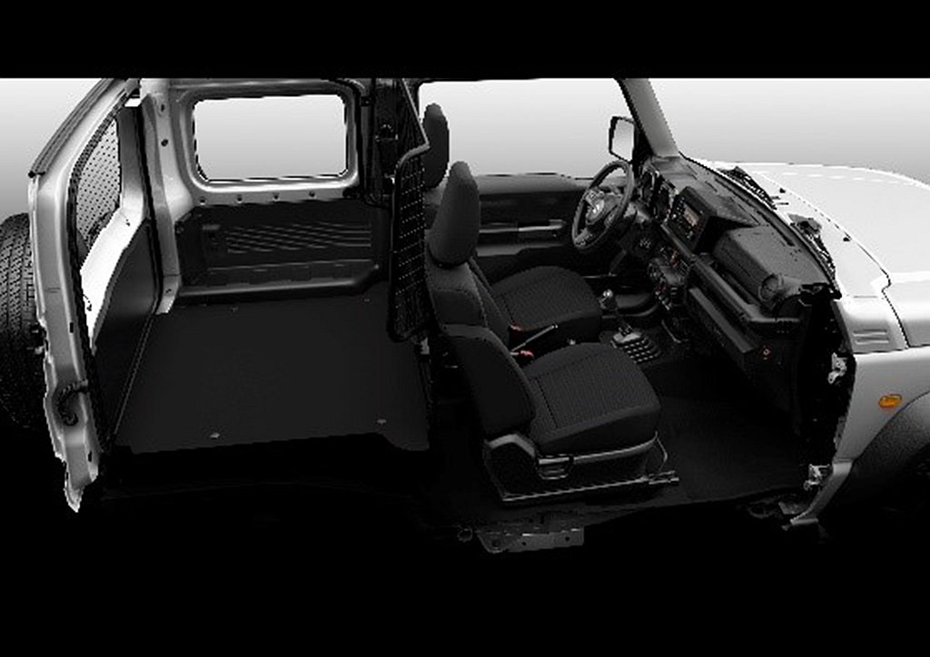Suzuki Jimny Light Commercial Vehicle拆除第...