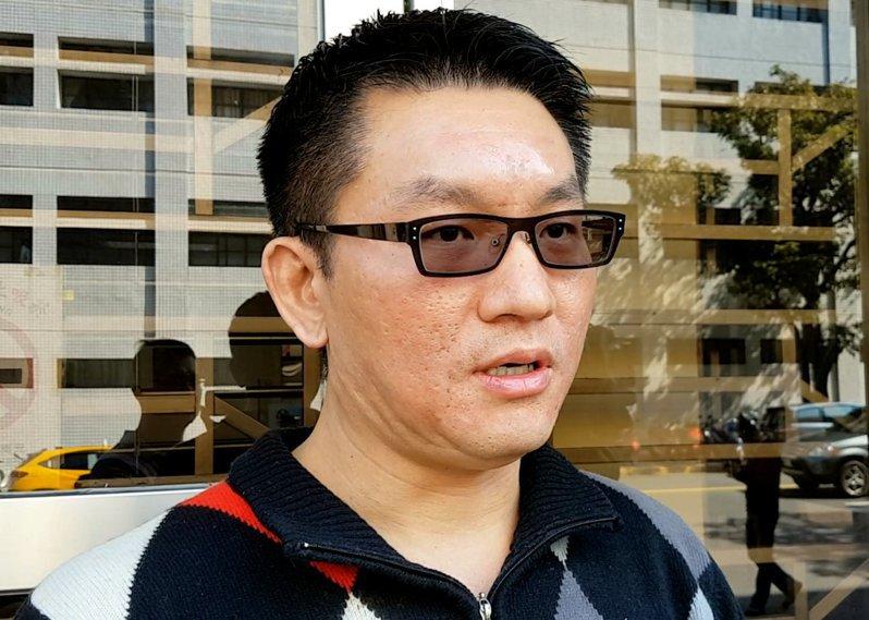 台北市前議員童仲彥。 聯合報系資料照片/記者王宏舜攝影