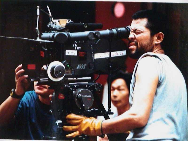李屏賓早年於香港拍片時磨出驚人抗壓性。圖/李屏賓提供
