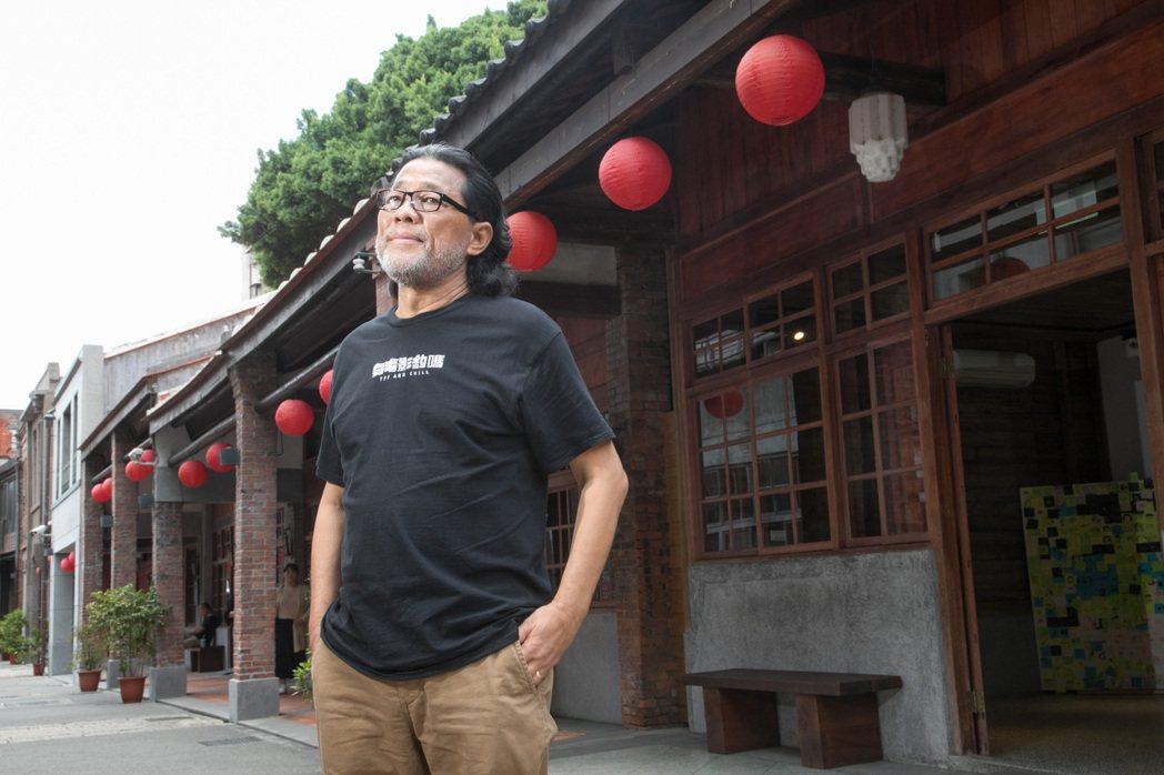 李屏賓如今較少接台灣電影,希望能讓更多新銳攝影師出頭。記者陳立凱/攝影