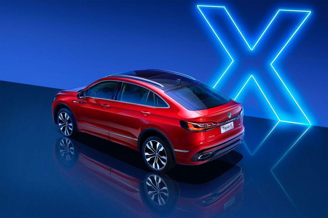 Volkswagen Tiguan X。 摘自Volkswagen