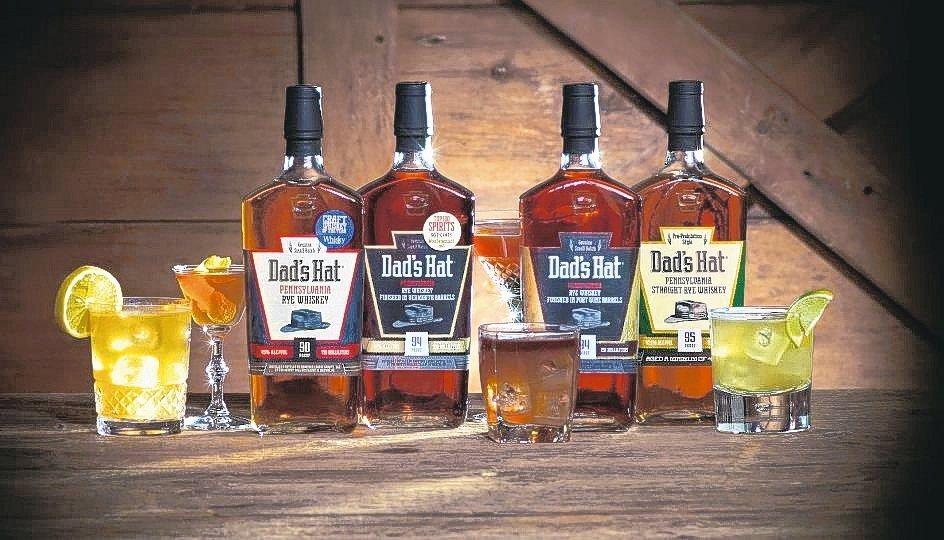 老爹帽賓州裸麥威士忌已獲全台30間酒吧進貨採用。 老爹帽/提供