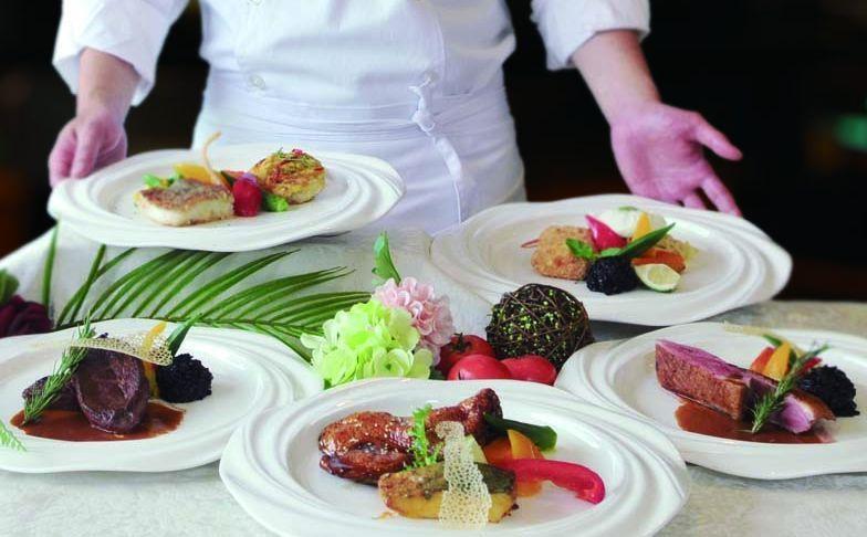 吃得巧又吃得飽,CP值高的半自助式套餐相當受歡迎。  台南大飯店 提供