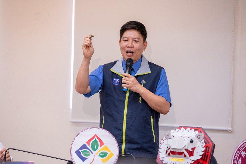 台灣創意金屬公司董事長郭治華。 台灣創意金屬公司/提供
