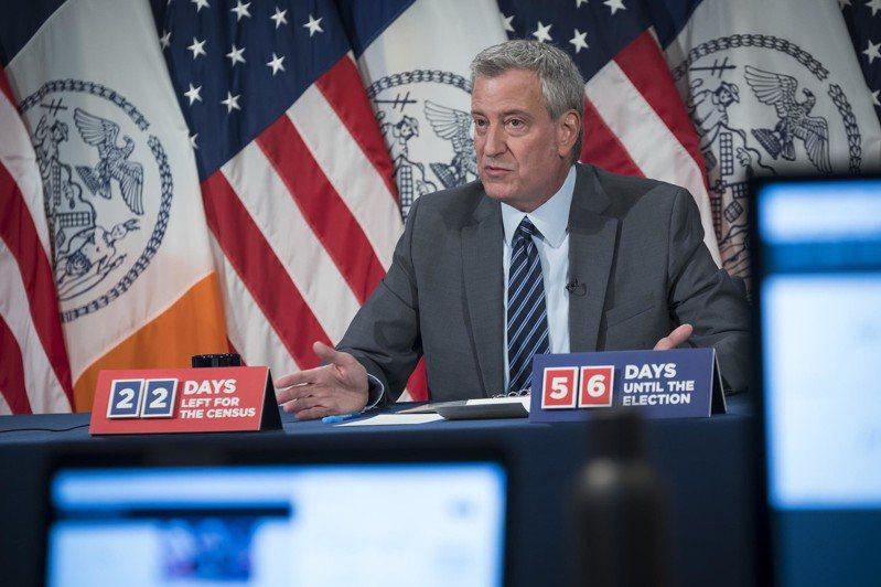 白思豪辦公室表示,川普此舉是「希望新冠重返紐約」。(市長辦公室提供)