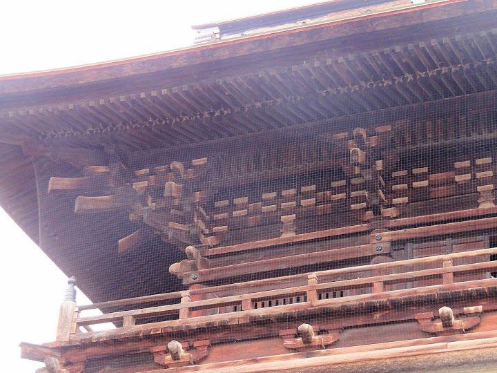 木造結構複雜