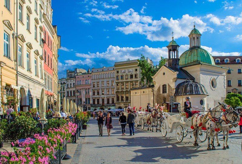波蘭Krakow非常有古典美 出名的濃湯也超暖胃 / 來源:pixabay