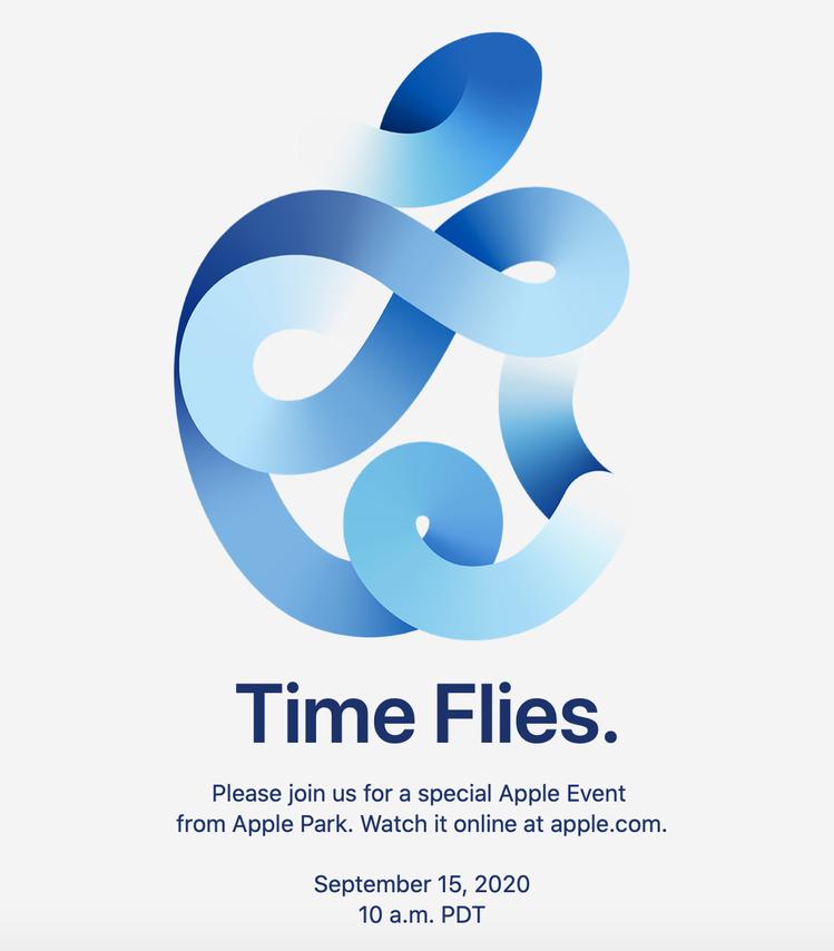 蘋果稍早正式發出秋季發表會線上活動邀請函。圖/蘋果提供