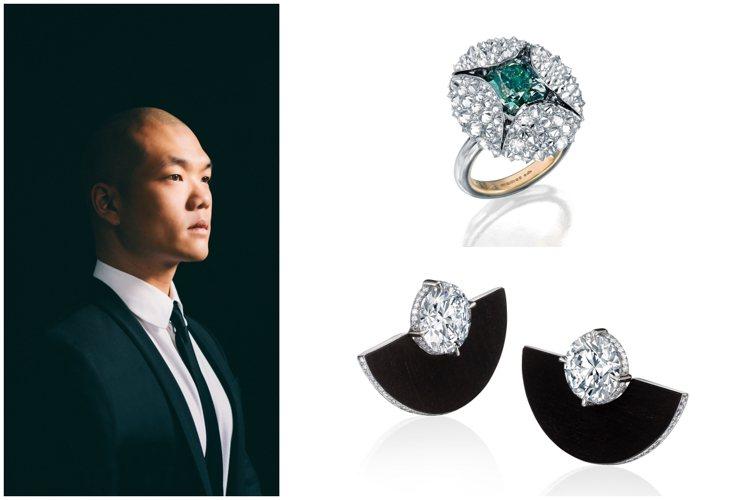 蘇富比鑽石攜手華裔設計師劉孝鵬。圖/蘇富比提供