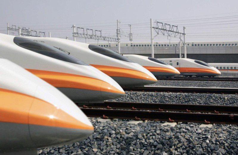 國慶連假高鐵加開102班次。聯合報系資料照