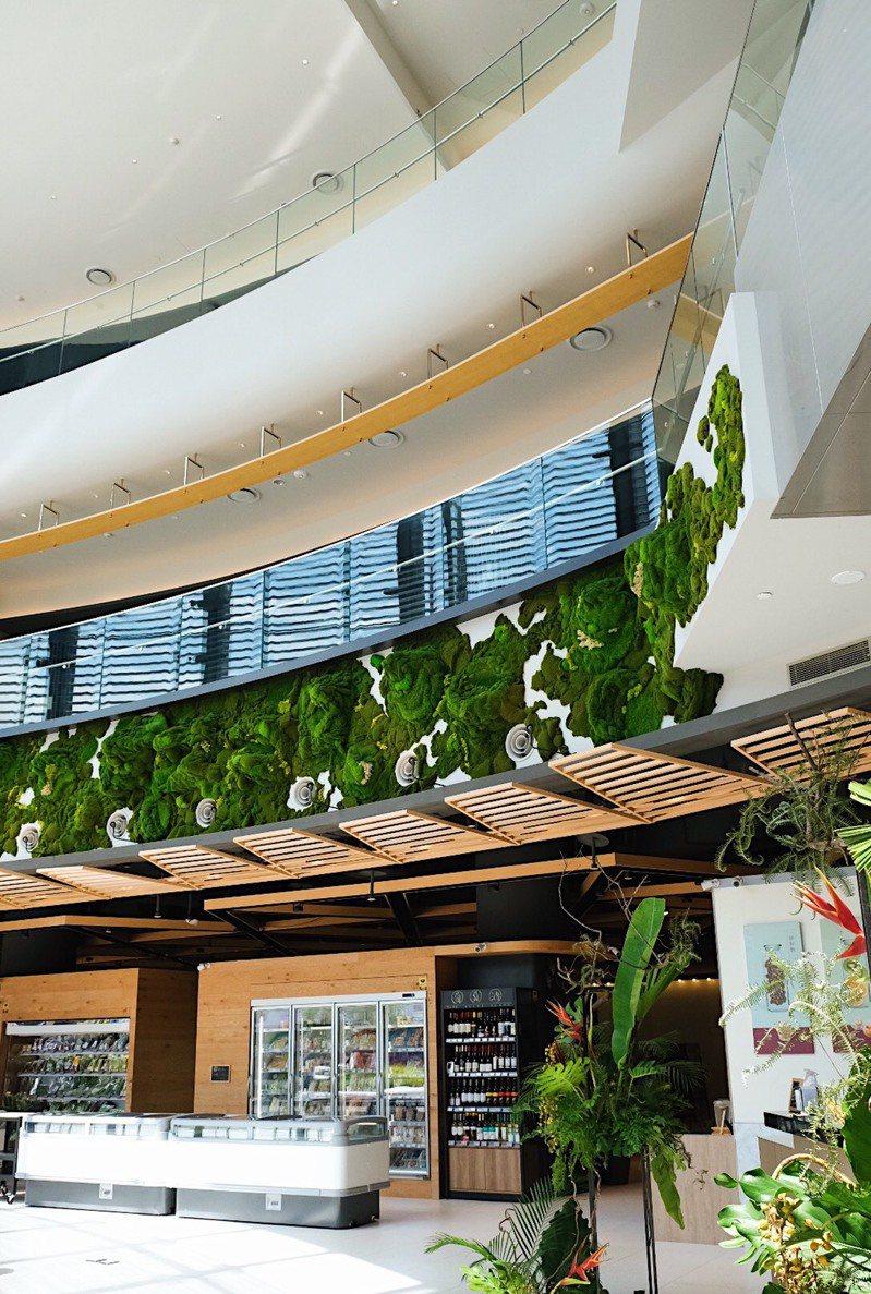 春大直商場餐飲占比高達7成。圖/台北大直英迪格酒店提供