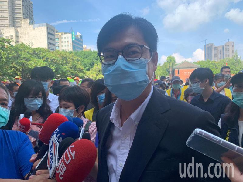高雄市長陳其邁表示,高雄今年登革熱境外移入的個案是7例,本土個案是0,所以要加強撲滅病媒蚊、切斷傳染鏈。記者徐如宜/攝影