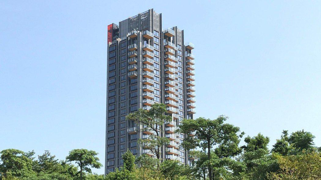 One Park Taipei信義聯勤。記者游智文/攝影
