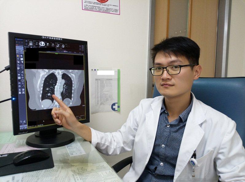 楊絡勝醫師表示單孔胸腔鏡手術傷口小、恢復快,讓病人可以恢復正常生活。圖/大千綜合醫院提供