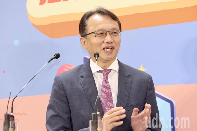 宏碁董事長暨執行長陳俊聖。記者林俊良/攝影
