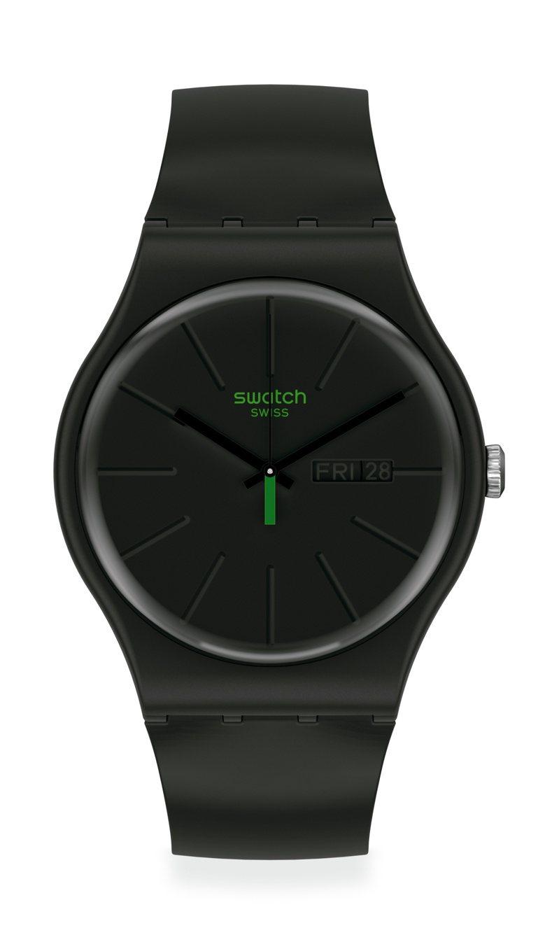 SWATCH 1983復刻經典New Gent系列創新世代NeuZeit腕表2,500元。圖/SWATCH提供