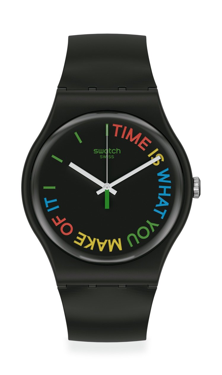 SWATCH 1983復刻經典New Gent系列時間由你創造FreeTid腕表...