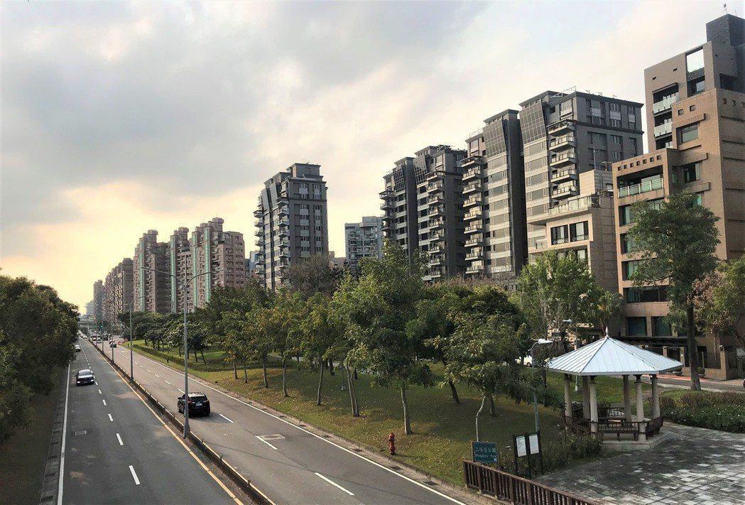大直水岸豪宅。記者游智文/攝影