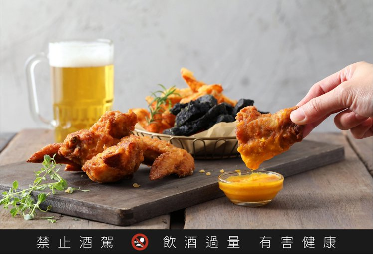 繼光香香雞與台灣啤酒合作,推出「啤酒炸雞」。圖/香繼光提供