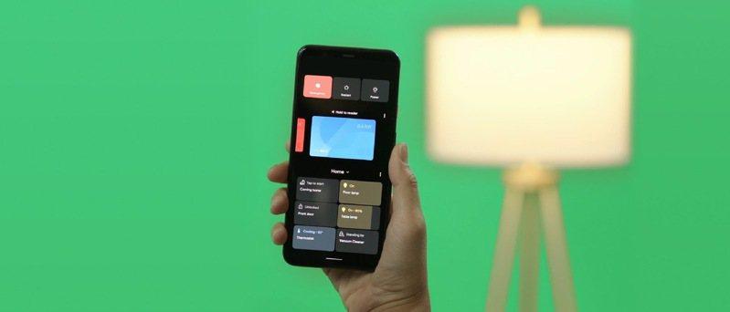 現在,只要長按電源按鈕,就能在同一畫面輕鬆存取所有已經連結的智慧型裝置。圖/Google提供