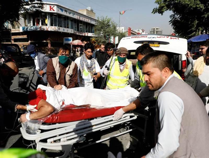 這次針對副總統的炸彈攻擊造成至少10人死亡、15人受傷。路透