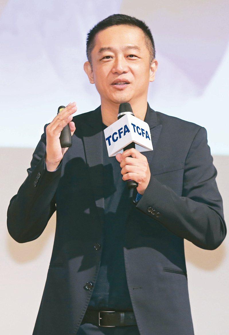翰成數位科技公司董事長陳昭榮。記者曾學仁/攝影