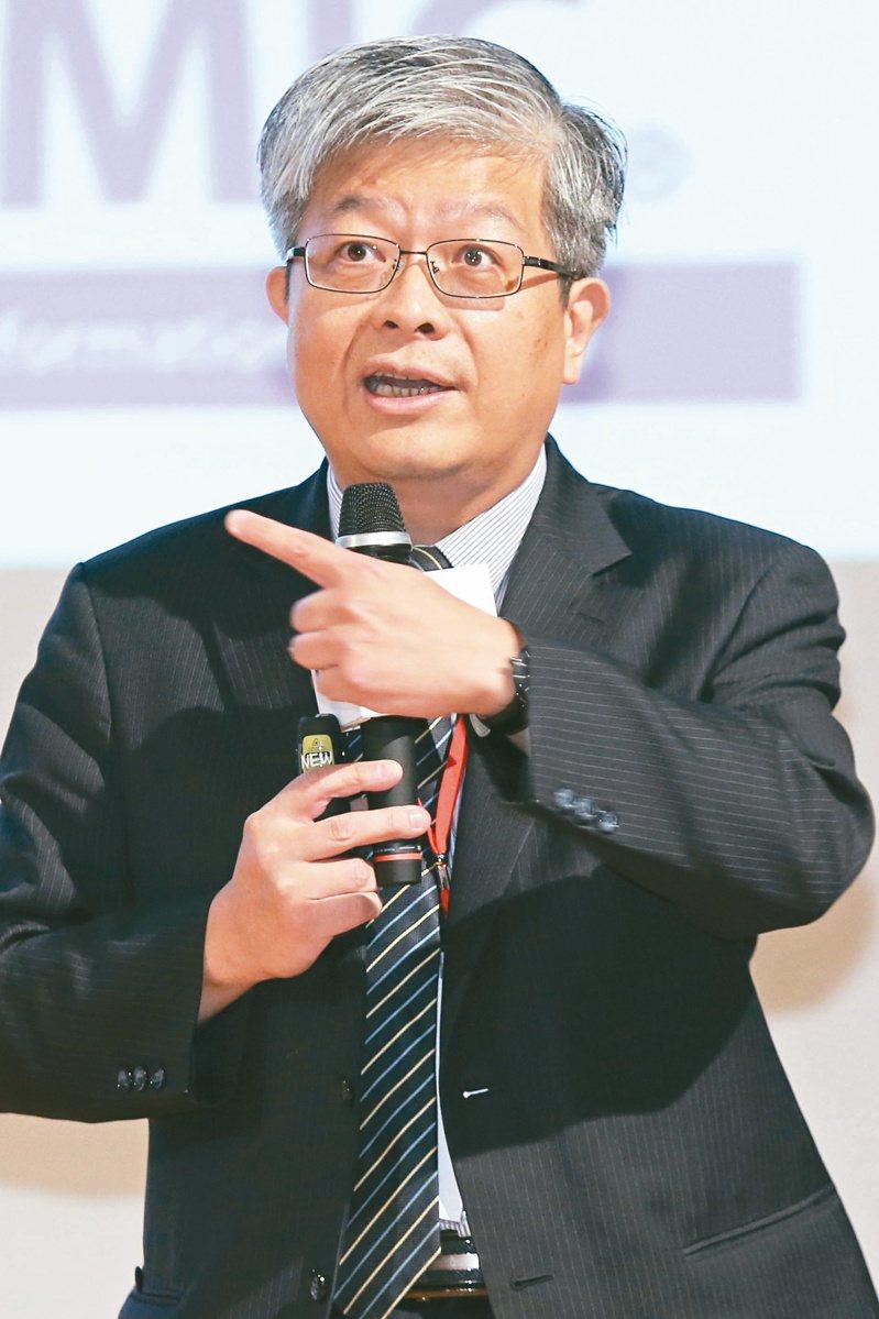 資策會產業情報研究所所長詹文男。記者曾學仁/攝影
