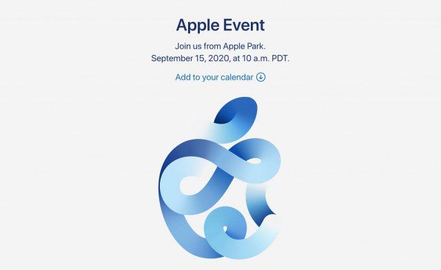 蘋果正式宣布將在美國時間9月15日(台北時間16日凌晨)舉行秋季發表會。(網路照片)