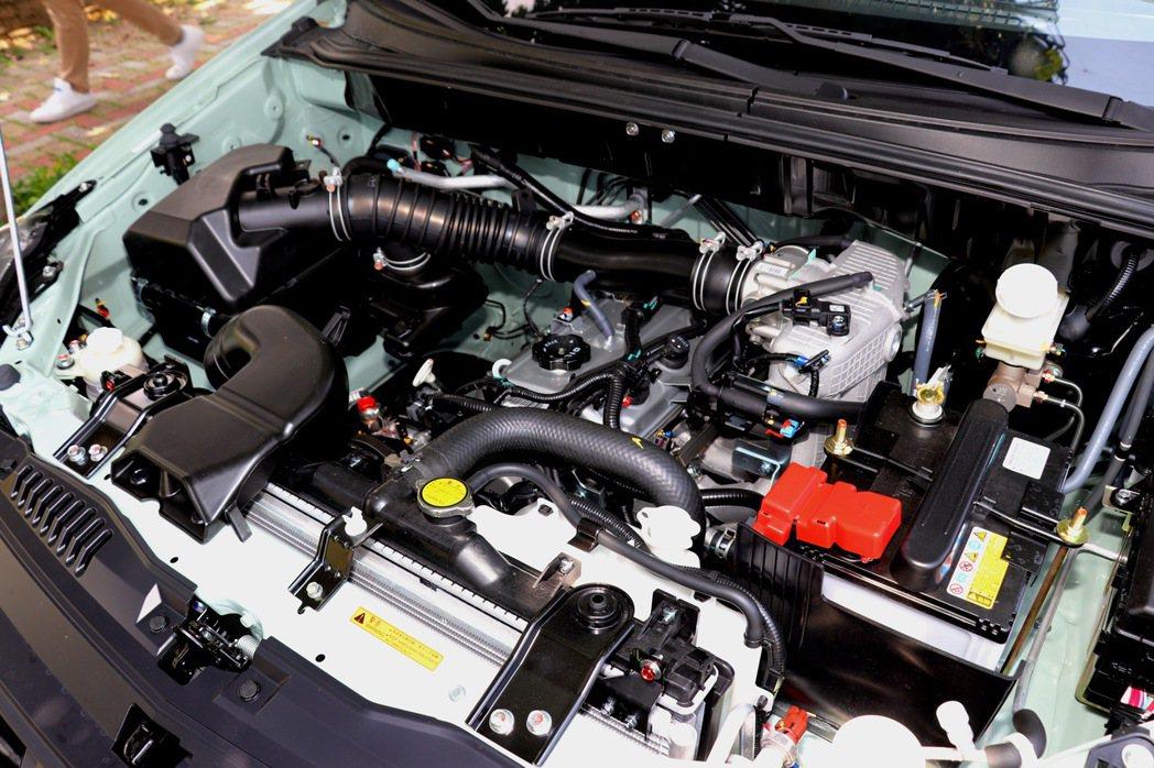 動力系統部分,採用原廠代號4G69的2.4升直列4缸汽油引擎。 記者陳威任/攝影