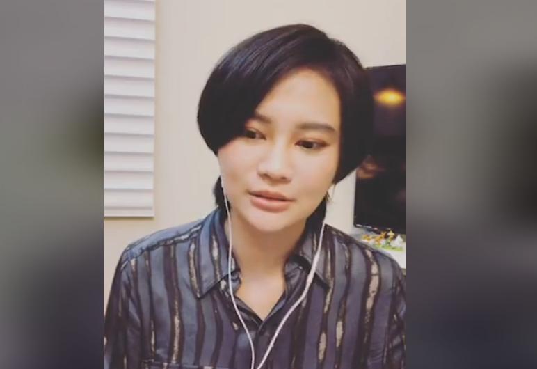「品學戀」曝光後,民進黨立委賴品妤9日晚間首度開直播。圖擷自賴品妤臉書