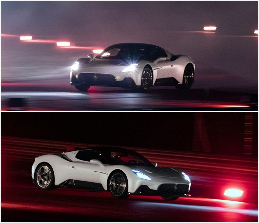 MC20的0-100km/h加速2.9秒,0-200km/h 8.8秒,極速32...