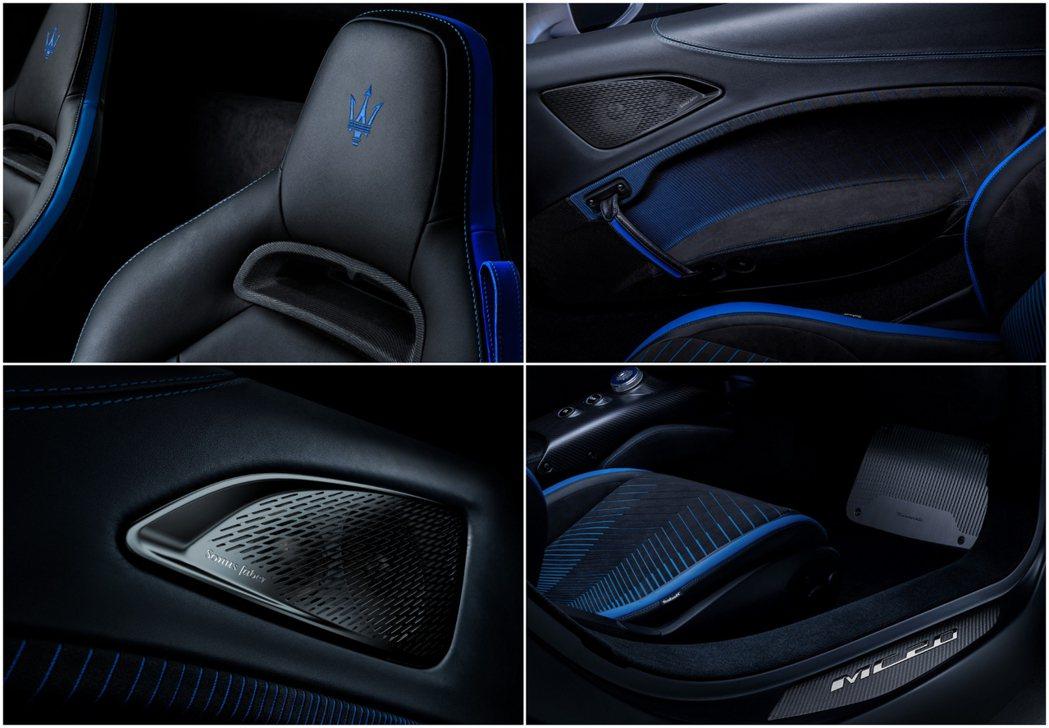 在追求輕量化的同時,Maserati的內飾還是不忘豪華本色。 摘自Maserat...