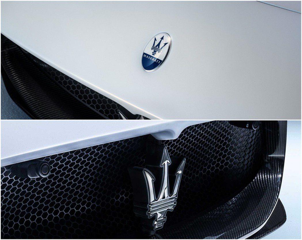 藉著這次機會,Maserati也趁機將Logo更新。 摘自Maserati