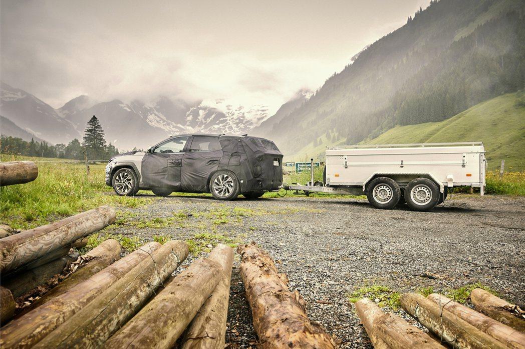 大改款Hyundai Tucson已經過重重的關卡測試。 摘自Hyundai