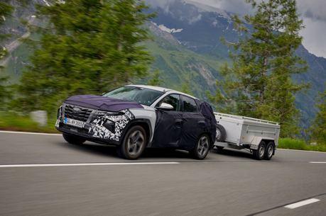 大改款Hyundai Tucson完成最終測試 全新Tucson N性能休旅有望達到290匹!