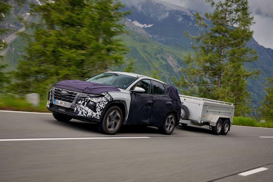 全新第四代Hyundai Tucson未來還將推出最大馬力可達290hp的Tuc...