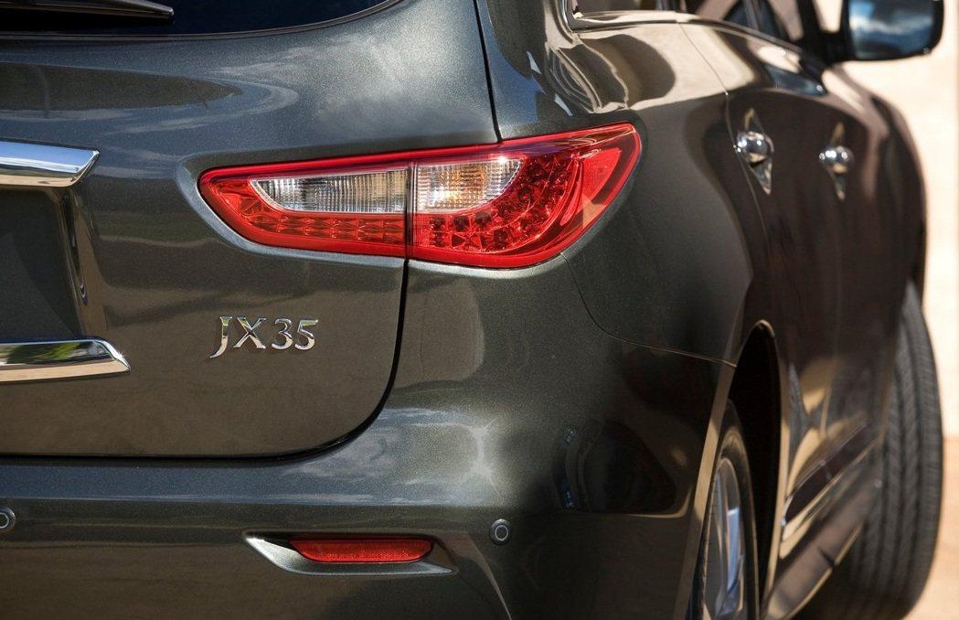 Infiniti QX60原本車系名為JX35。 摘自Infiniti
