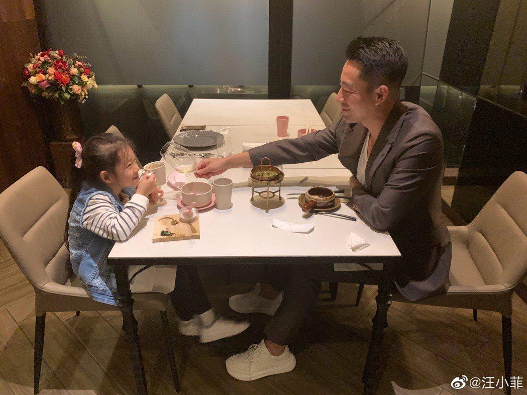汪小菲吐露想女兒心聲。圖/擷自汪小菲微博