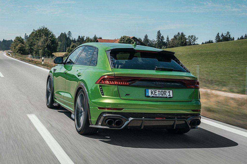 ABT以Audi RS Q8搭載的4.0L V8雙渦輪引擎為基礎,更換ABT E...