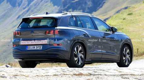 Volkswagen ID.6電動七人座休旅曝光 沒仔細看還以為是輛Peugeot!