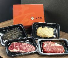 空運活鱈場蟹X日本香草和牛,美味豪氣海陸多重奏。業者/提供
