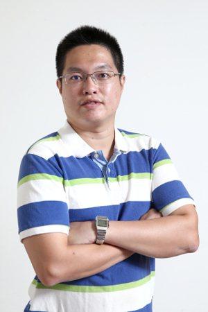 知名財經粉絲團Joe's investment版主蔡佑駿。 記者蘇健忠/攝影