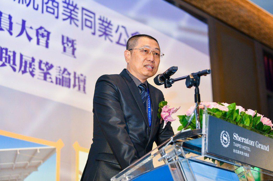 開陽集團董事長蔡宗融表示,積極發展儲能,使綠電發展的版圖更趨完整。