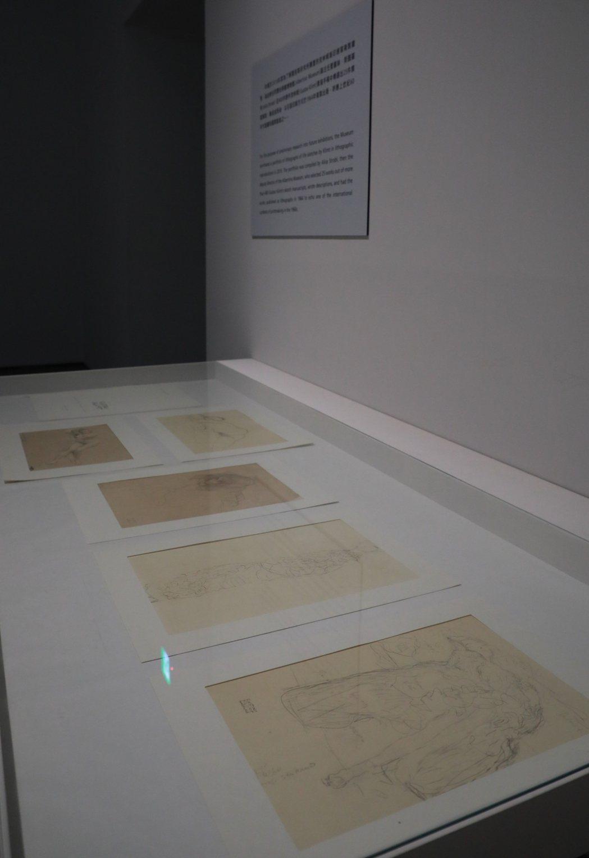 「不均的平面:1957-1983 面向國際的臺灣版畫」初次在臺公開展示的克林姆珍...