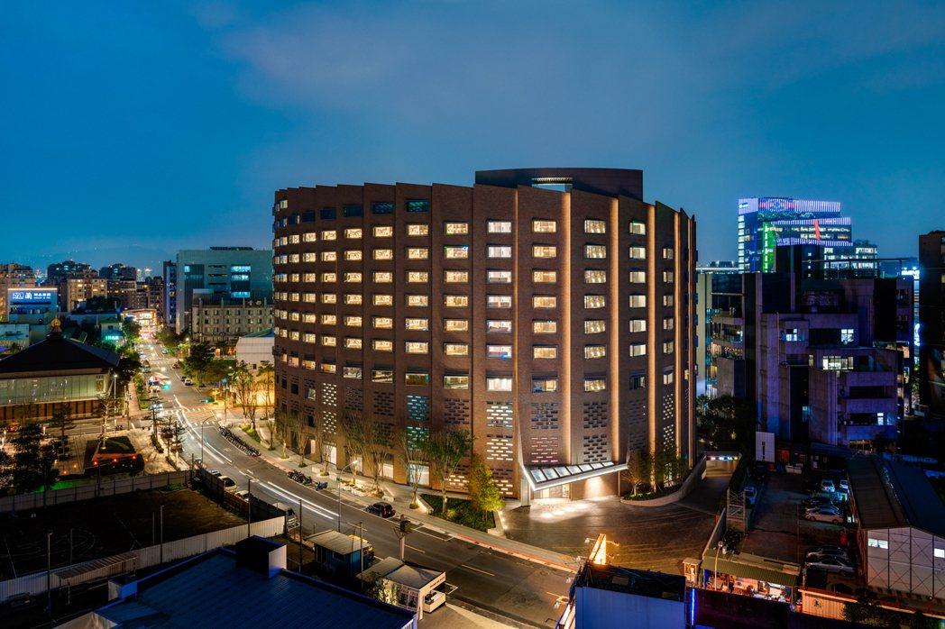 台北大直英迪格酒店- 酒店外觀。