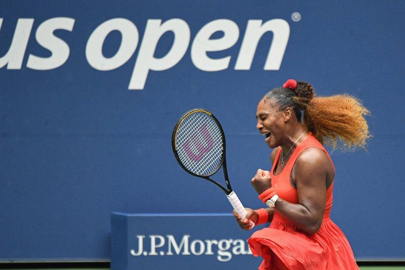 美國名將小威廉絲(Serena Williams)晉級女單準決賽。 路透社