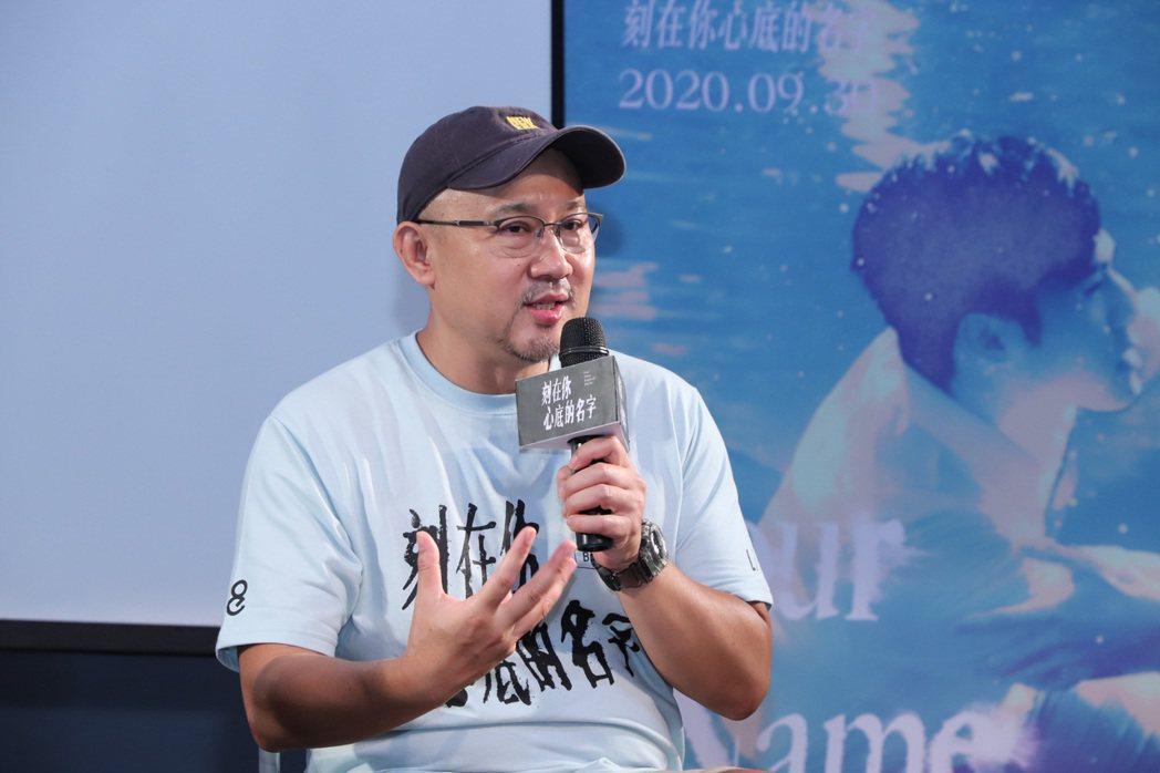 導演柳廣輝分享創作及拍攝點滴。圖/氧氣電影提供