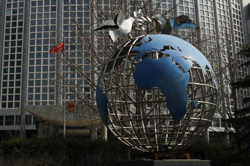圖為大陸外交部大樓。美聯社